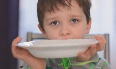hongerig jongetje