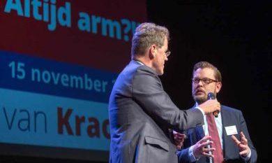 sprekers tijdens het congres Altijd Arm?!