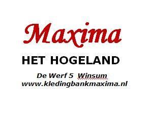 Logo kledingbank Maxima Het Hogeland